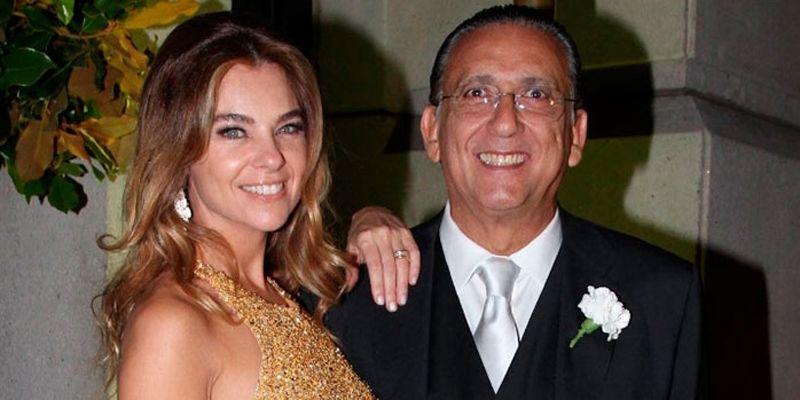 Galvão Bueno e Desireé Soares