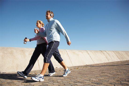 Caminhar ainda é um excelente exercício